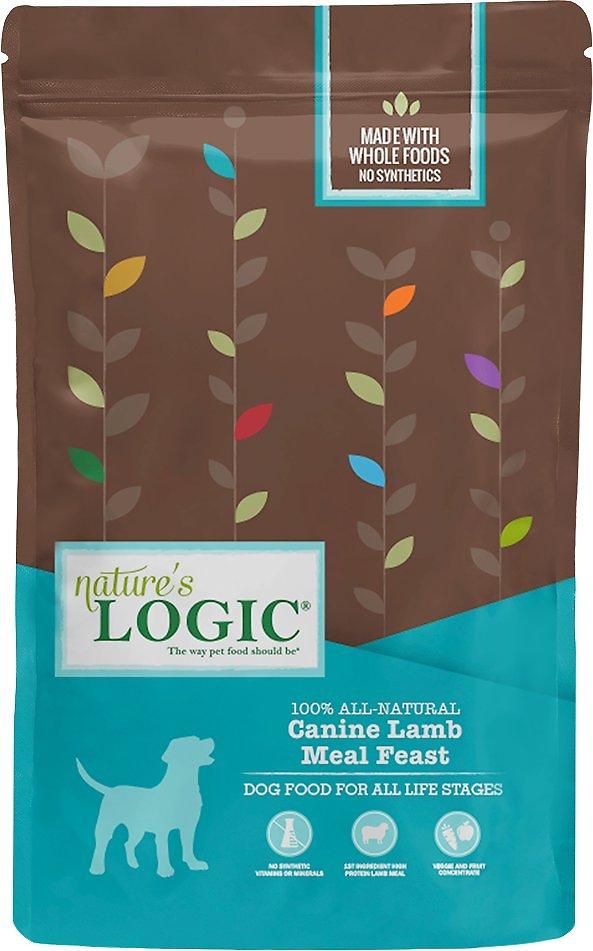 Nature's Logic Canine Lamb Meal Feast Dry Dog Food, 13-lb
