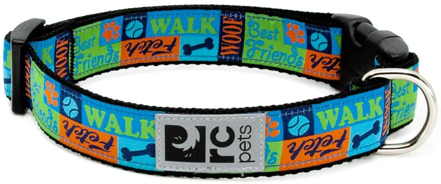 RC Pet Products Clip Dog Collar, Best Friends, Medium