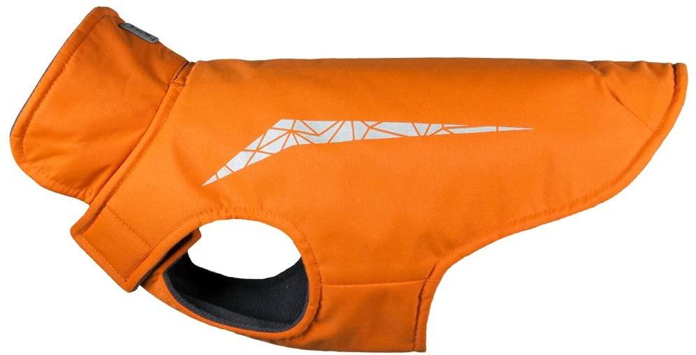 RC Pet Products Cascade Dog Coat, Burnt Orange, 8-in