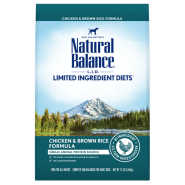 Natural Balance L.I.D. Limited Ingredient Diets Lamb Meal & Brown Rice Formula Dry Dog Food, 12-lb bag