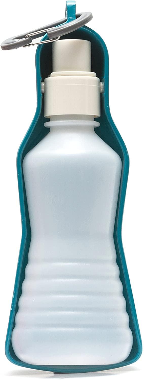 Messy Mutts Travel Dog Water Dispenser, Blue