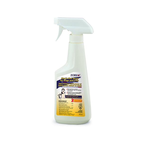 Zodiac Flea & Tick Spray for Cats & Dogs, 475-mL