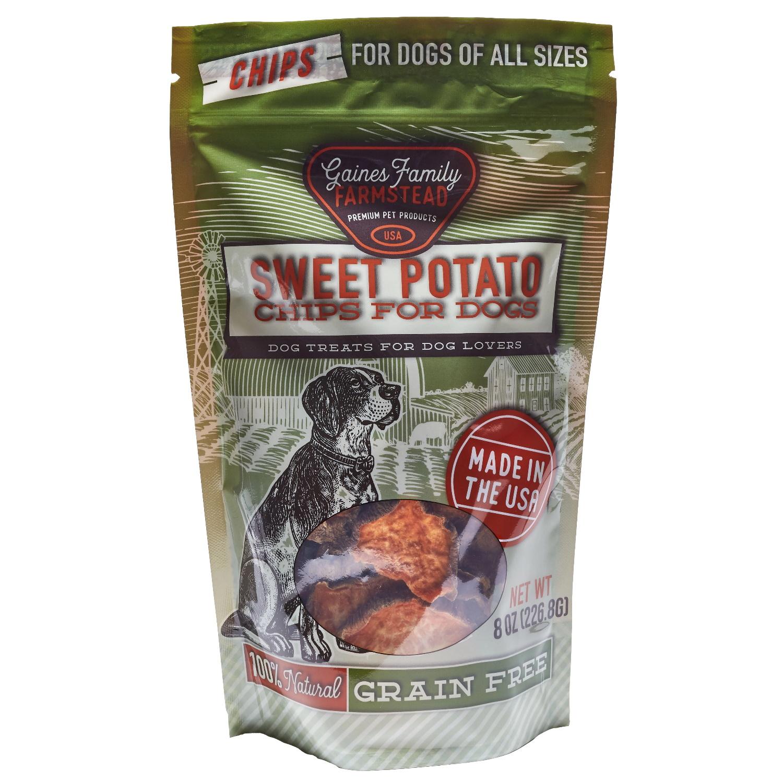 Gaine's Family Farmstead Sweet Potato Chips, 8-oz