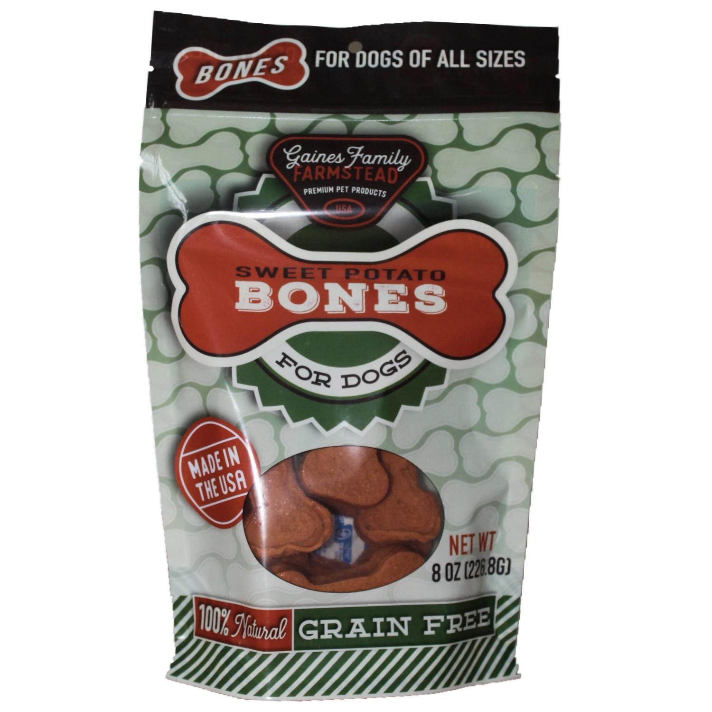 Gaine's Family Farmstead Sweet Potato Bones, 8-oz
