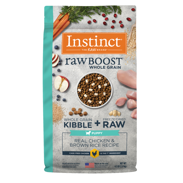 Instinct by Nature's Variety Raw Boost Whole Grain Real Chicken & Brown Rice Puppy Dry Dog Food Image