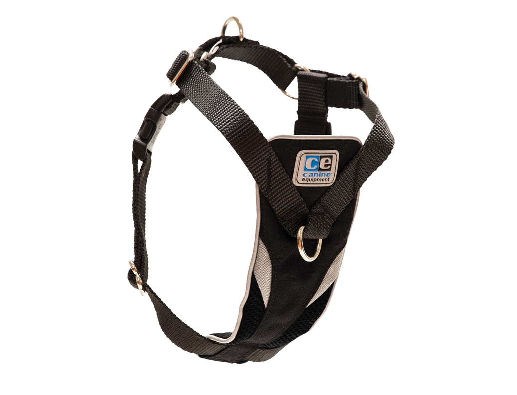 RC Pet Products Canine Equipment Ultimate Control Dog Harness, Black, X-Large