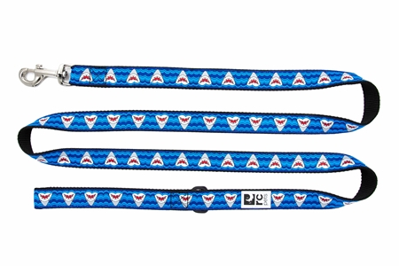 RC Pet Products Dog Leash, Shark Attack, 3/4-in x 6-ft