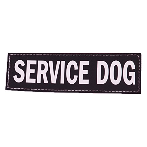 EzyDog Side Patches for Convert Harness, Service Dog, Large