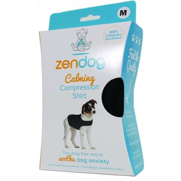 ZenPet ZenDog Calming Compression Dog Shirt, Medium