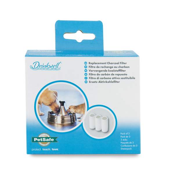 Drinkwell Charcoal Filter for 360 fountains, 3-pk