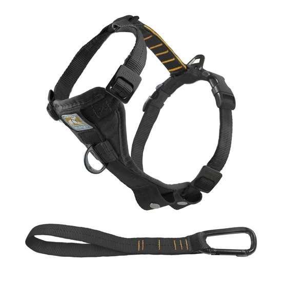 Kurgo Tru-Fit Enhanced Strength Smart Dog Harness, Black, X-Large