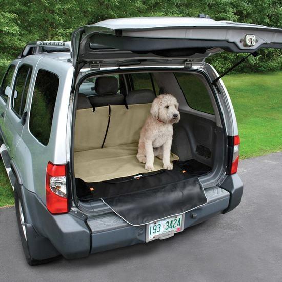Kurgo Cargo Cape Car Seat Cover, Hampton Sand