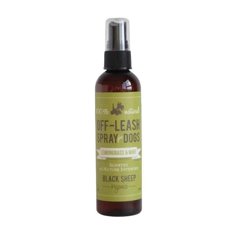 Black Sheep Organics Lemongrass & Mint Off-Leash Dog Spray, 4-oz
