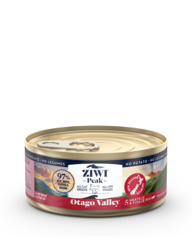 Ziwi Peak Canned Otago Valley Recipe Cat Food, 3-oz