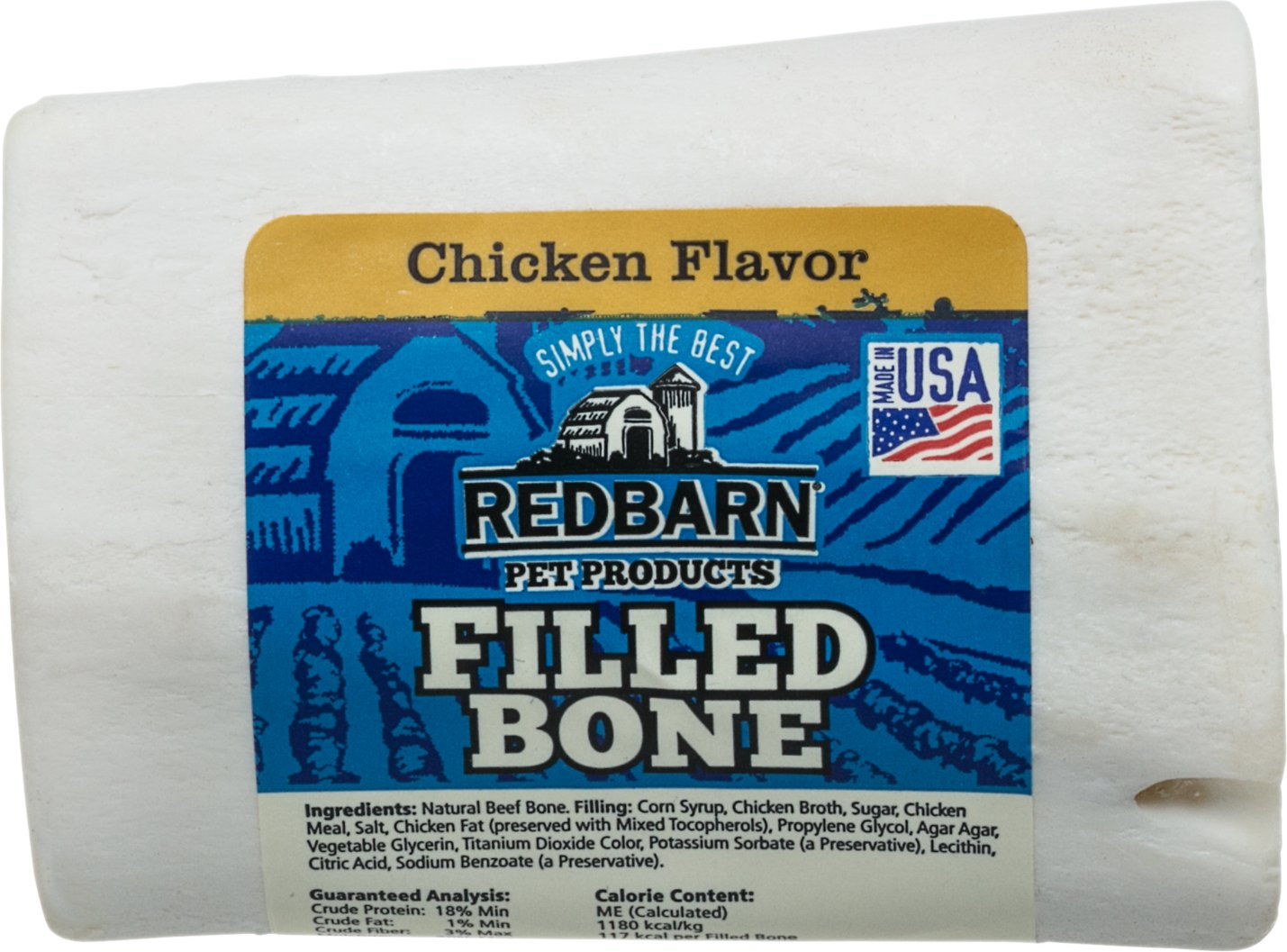 Redbarn Small Chicken Filled Bones Dog Treats