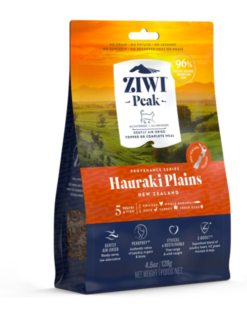Ziwi Peak Hauraki Plains Recipe Air-Dried Cat Food, 12-oz