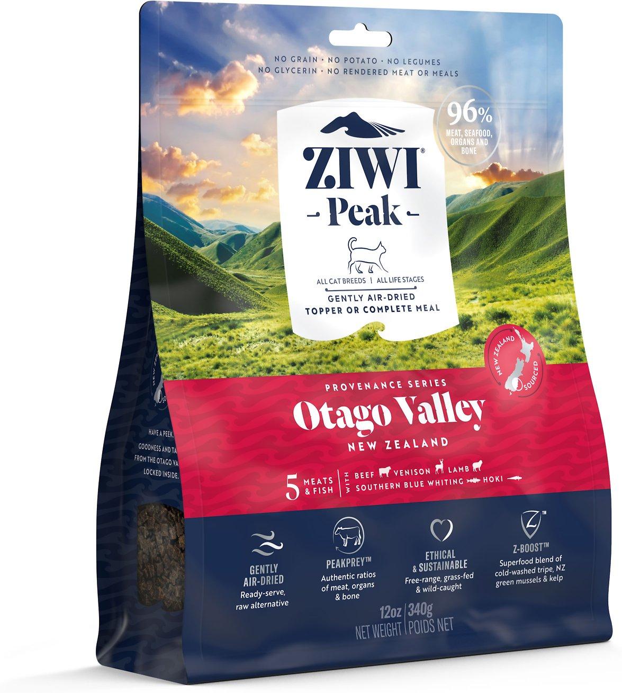 Ziwi Peak Otago Valley Recipe Air-Dried Cat Food, 12-oz