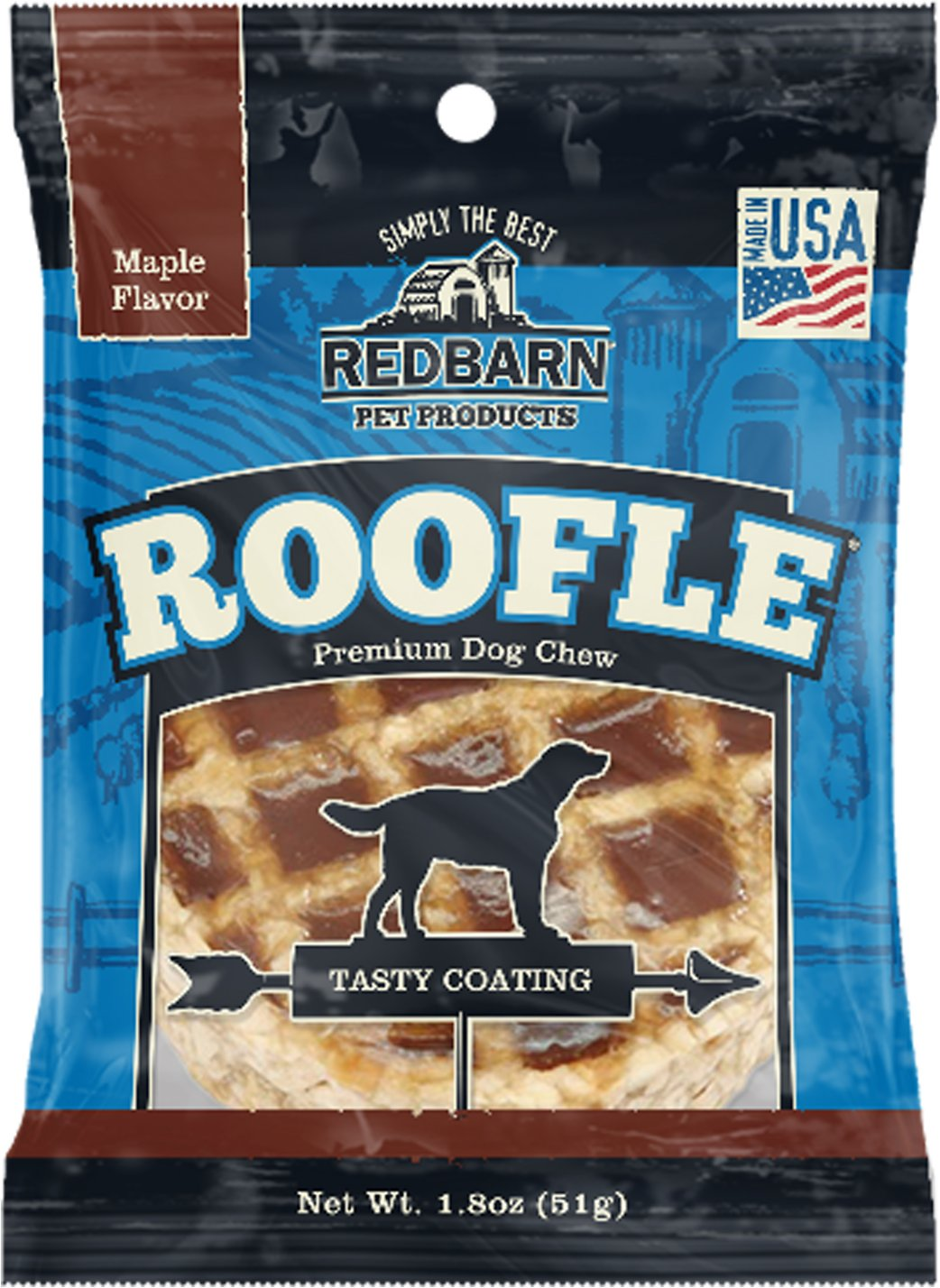 Redbarn Roofles with Natural Maple Flavor Dog Treats, 1-count