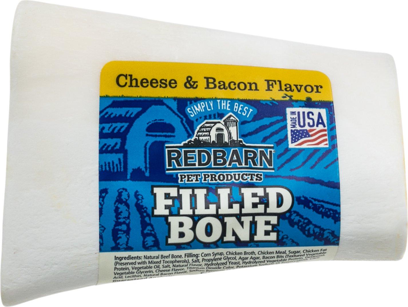 Redbarn Small Cheese n' Bacon Filled Bones Dog Treats