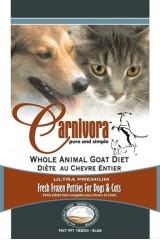 Carnivora Whole Animal Goat Diet Frozen Cat & Dog Food, 4-lb