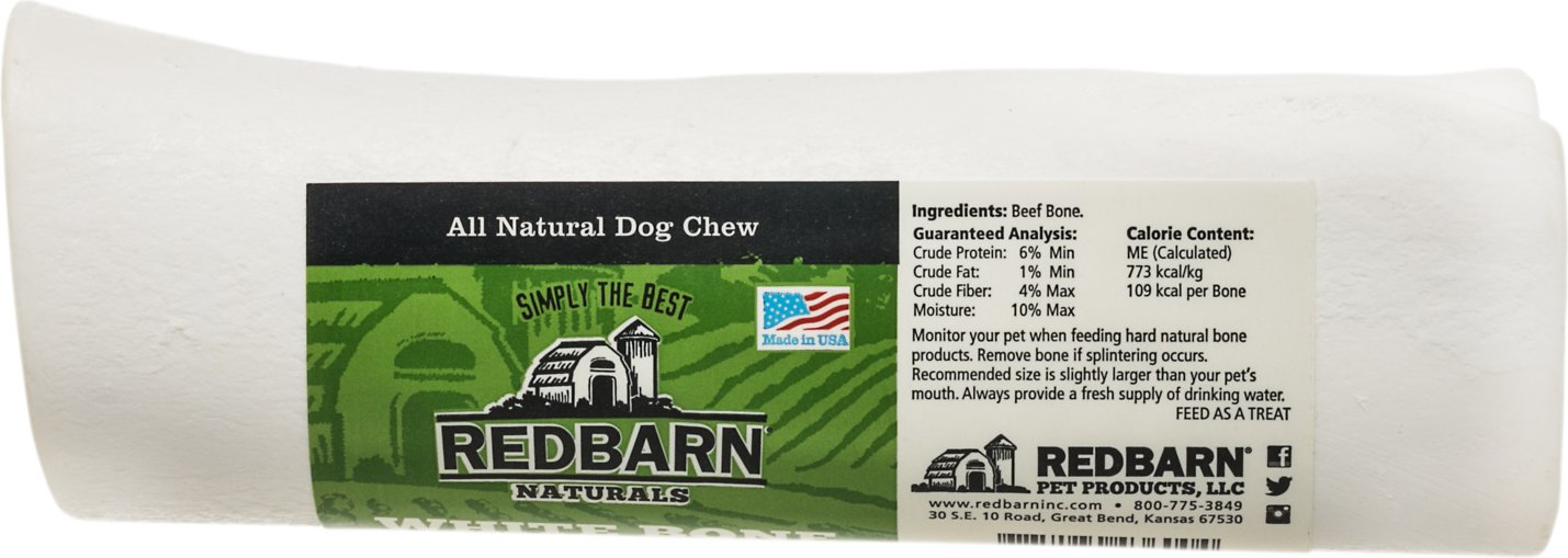 Redbarn Large White Bones Dog Treats