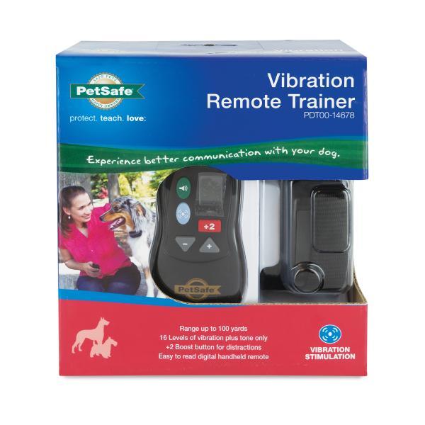 PetSafe Vibration Remote Trainer Dog Training Collar Image