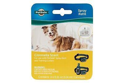 PetSafe Citronella Spray Refill for Dog Bark & Training Collars, 3-pk