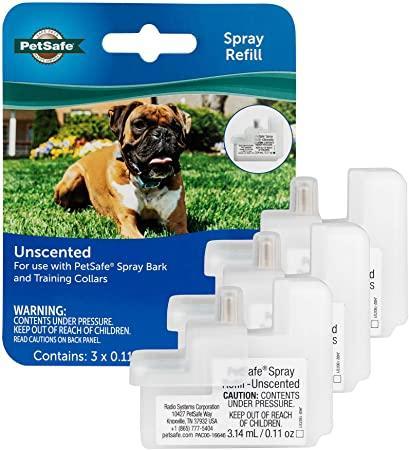 PetSafe Unscented Spray Refill for Dog Bark & Training Collars, 3-pk