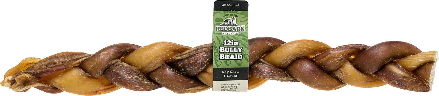 "Redbarn Braided Bully Sticks 12"" Dog Treats Image"