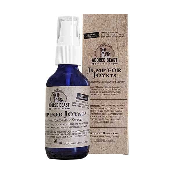 Adored Beast Jump For JOYnts Extra Strength 4-Way Mobility Support for Dogs & Cats, 60-mL
