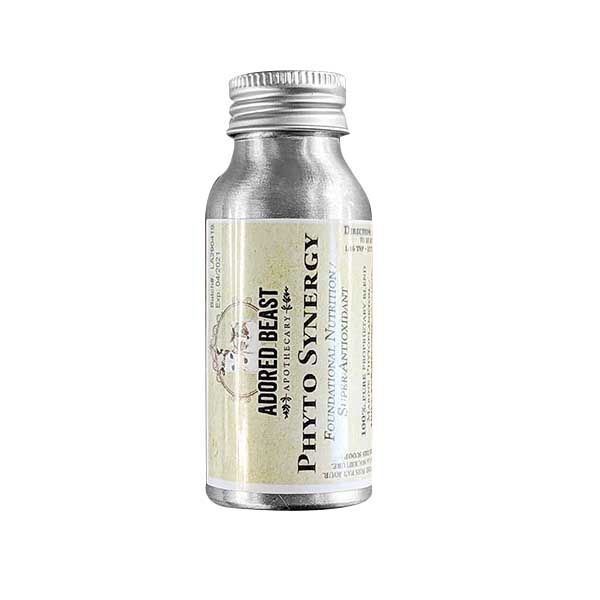 Adored Beast Phyto Synergy Foundational Nutrition/ Super-Antioxidant for Dogs & Cats, 15-gram