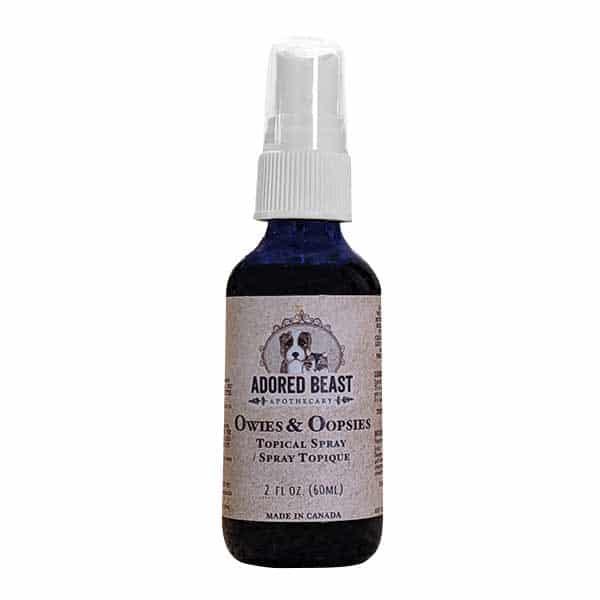 Adored Beast Owies & Oopsies Topical Spray for Dogs & Cats, 60-mL