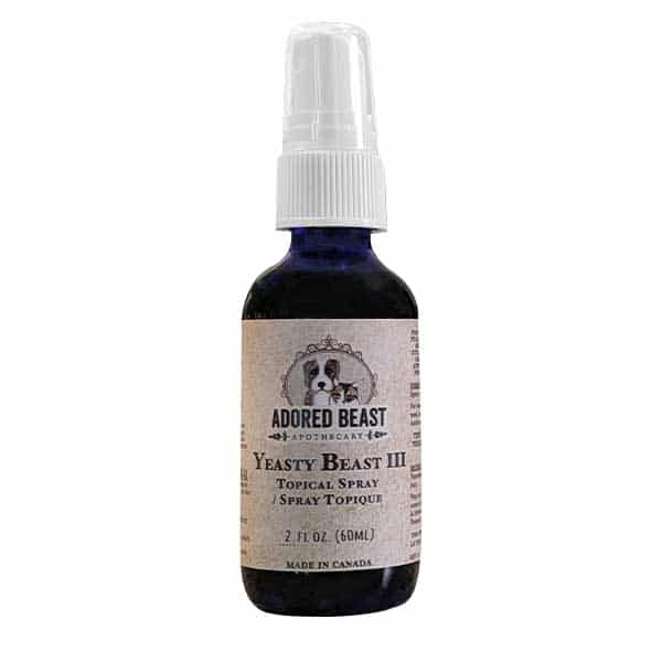 Adored Beast Yeasty Beast III Topical Spray for Dogs & Cats, 60-mL