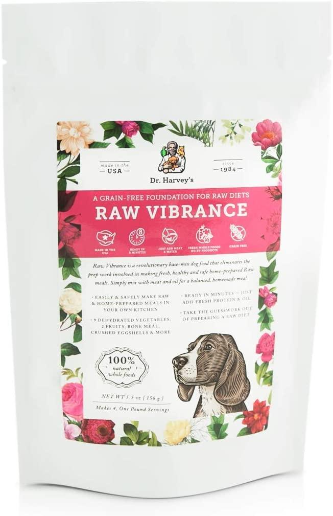 Dr. Harvey's Raw Vibrance Dehydrated Dog Food, 5.5-oz