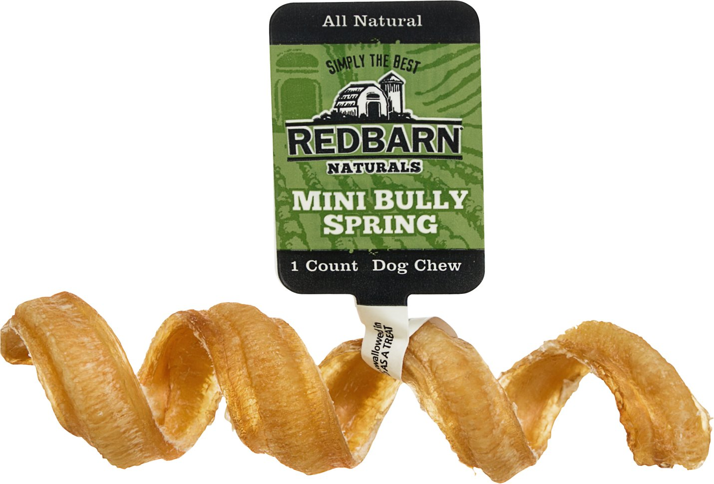 Redbarn Naturals Mini Bully Springs Dog Treats