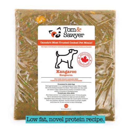 Tom&Sawyer Kangaroo Frozen Dog Food, 454-gram