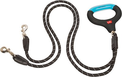 Wigzi Dual Doggie Gel Rope Leash, Medium/Large