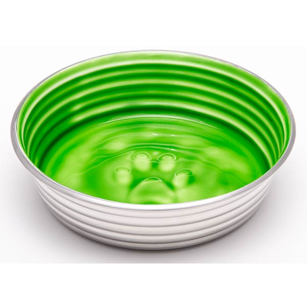 Loving Pets Le Bol Dog Bowl, Chartreuse, Medium