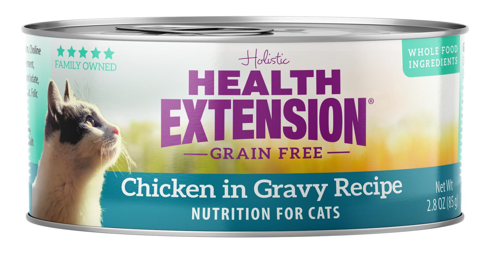 Health Extension Grain-Free Chicken in Gravy Recipe Wet Cat Food Image