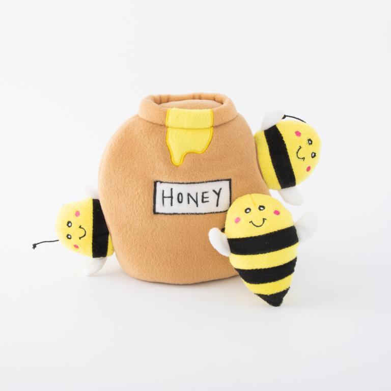 Zippy Paws Honey Pot Burrow Dog Toy