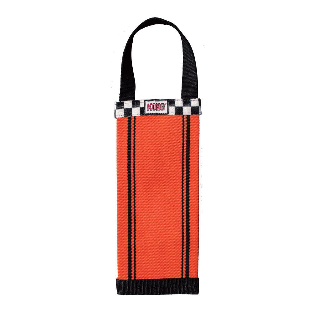 KONG Ballistic Fire Hose Bottle Tracker Dog Toy, Assorted Colors, Large