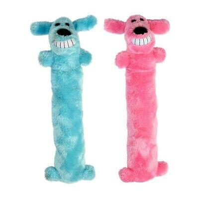 Multipet Blankie Loofa Dog Toy, 12-in