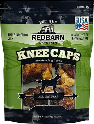 Redbarn Knee Caps Dog Treats, 4 pack