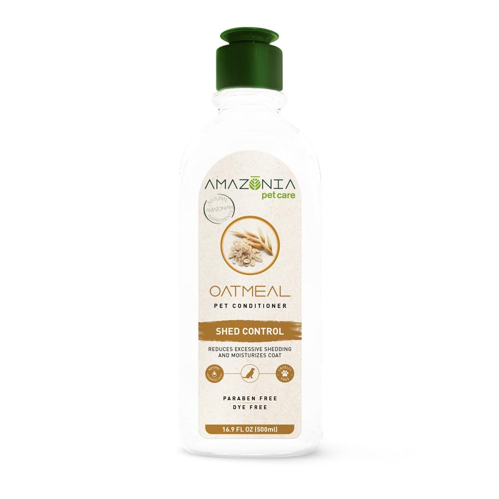 Amazonia Oatmeal Pet Conditioner, 16.9-oz