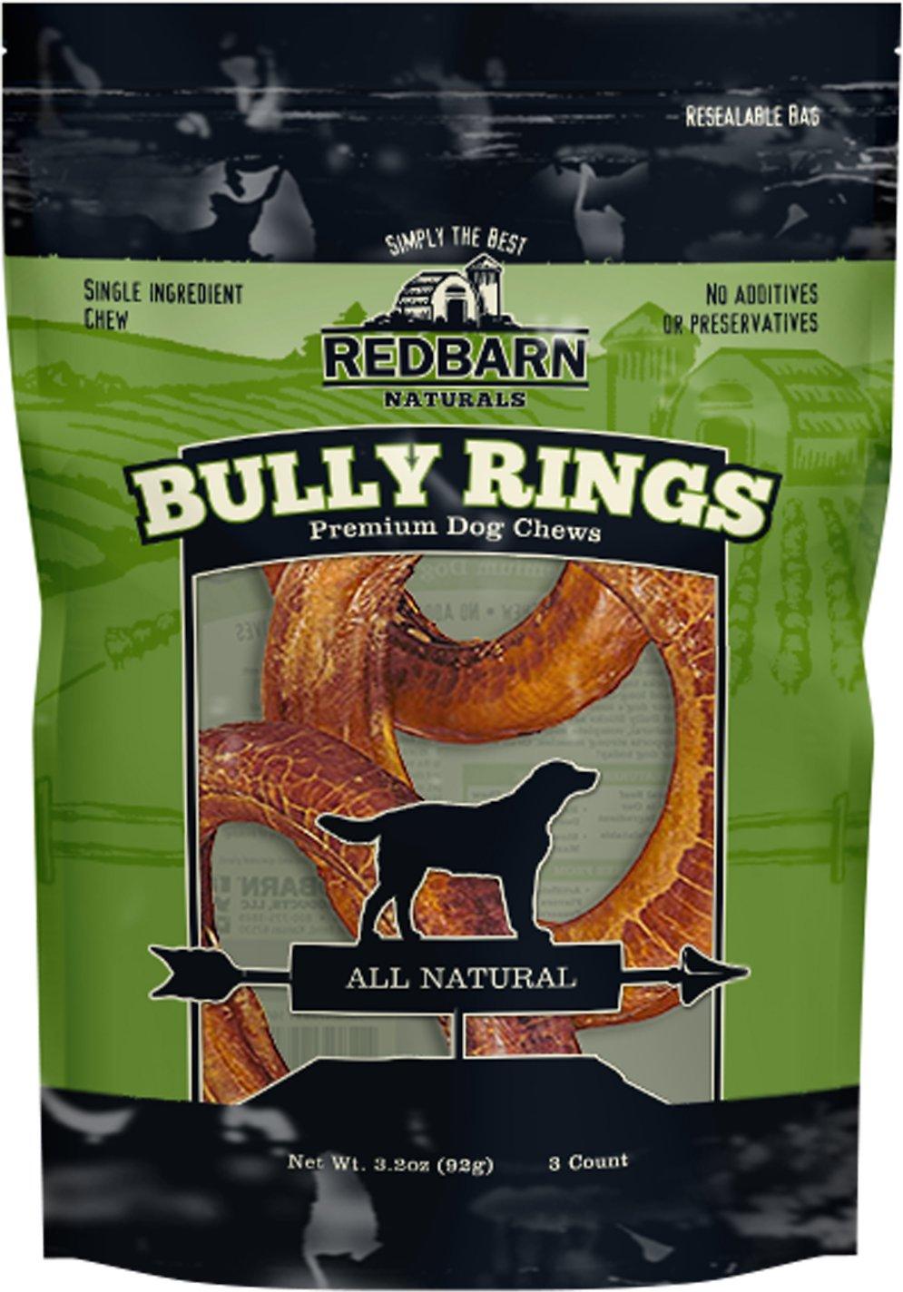 Redbarn Naturals Bully Rings Dog Treats