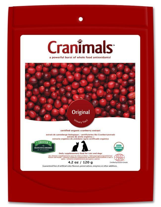 Cranimals Original Urinary Tract Pet Supplement, 4.2-oz