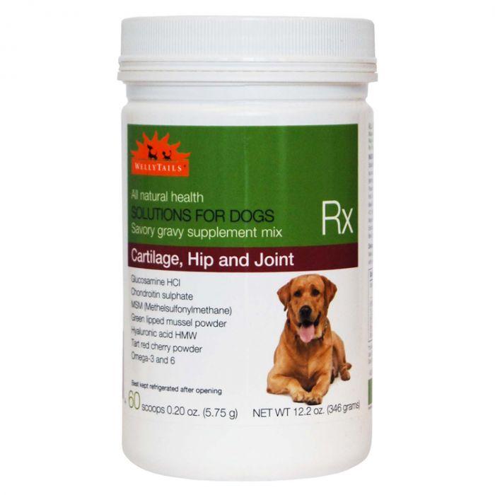 WellyTails  Cartilage, Hip & Joint Dog Supplement, 345-gram