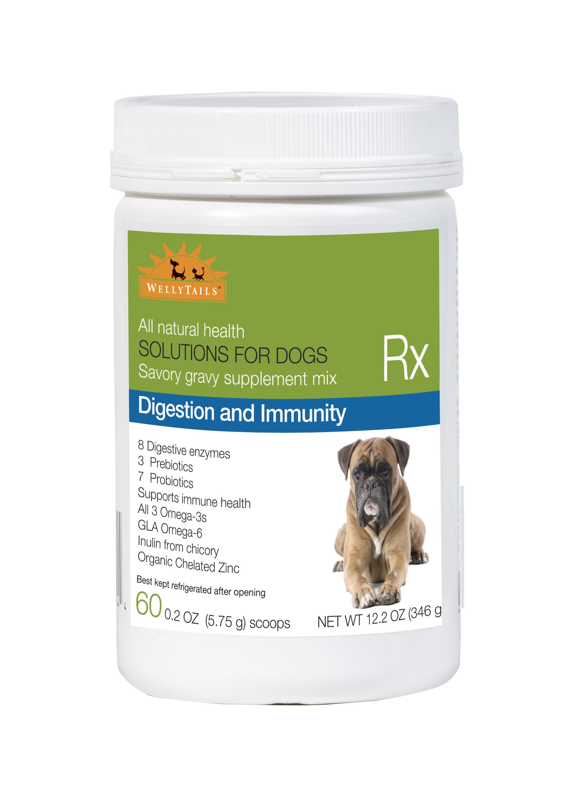 WellyTails  Digestion & Immunity Dog Supplement, 345-gram