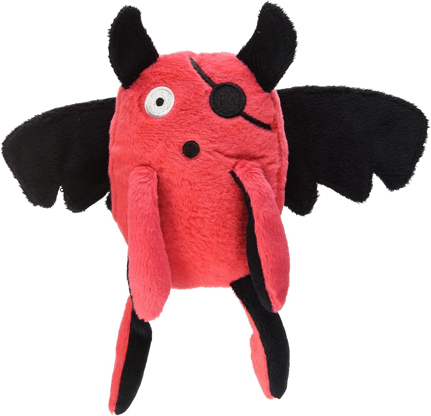 P.L.A.Y. Momo's Monster T-Pee Dog Toy, Red