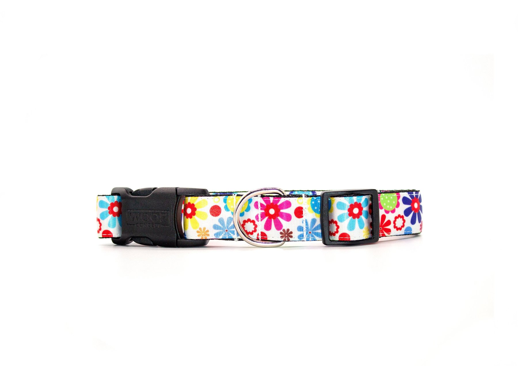 Woof Concept Dog Collar, Spring, Small